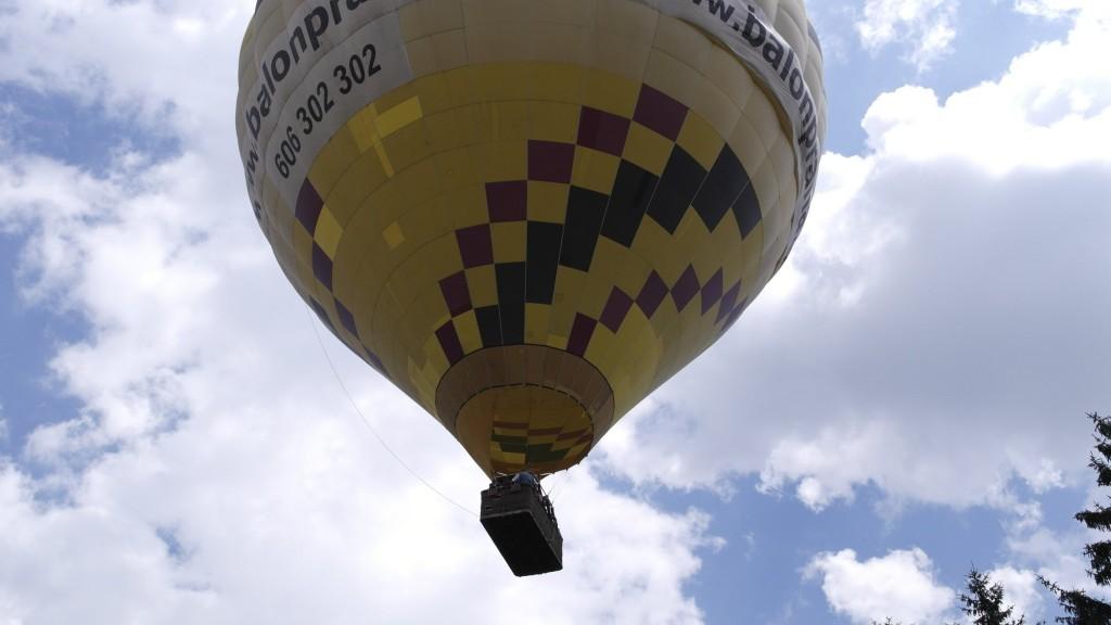 balon praha Let balonem