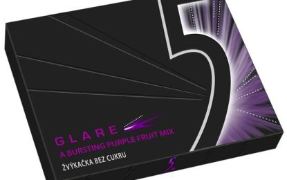 Žvýkačky 5 jsou exkluzivní žvýkačky bez cukru