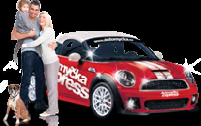 Svěřte svůj vůz nejkomfortnější Automyčce Express