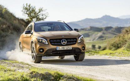 Mercedes-Benz GLA překvapí