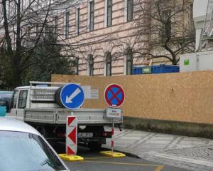 Zábor veřejného prostranství je náročný zejména v Praze