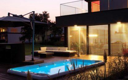 Vyberte si vířivé vany, bazény s protiproudem a domácí finské sauny k dokonalé relaxaci