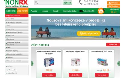 Online lékárna nonRx vás nezklame