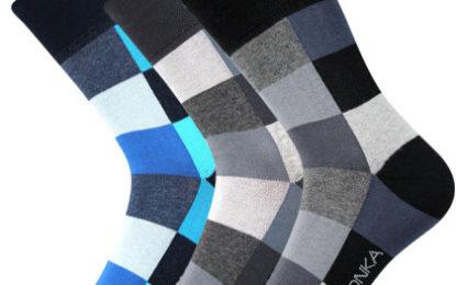 Slušivé ponožky se stříbrem dovedou zatočit se zápachem a nadměrným pocením nohou