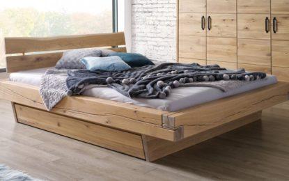 Kvalitní postele z masivu z dubu nebo borovice