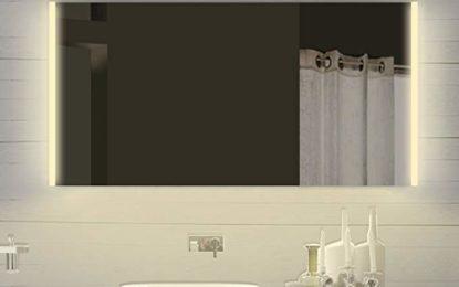 Zrcadlové skříňky s osvětlením elegantně doplní vaši koupelnu